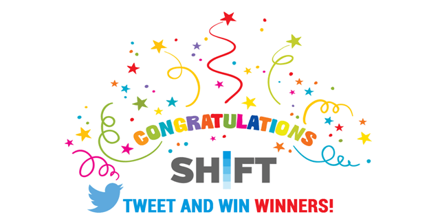 SHIFT TWEET AND WIN WINNER BALI BIDADARI