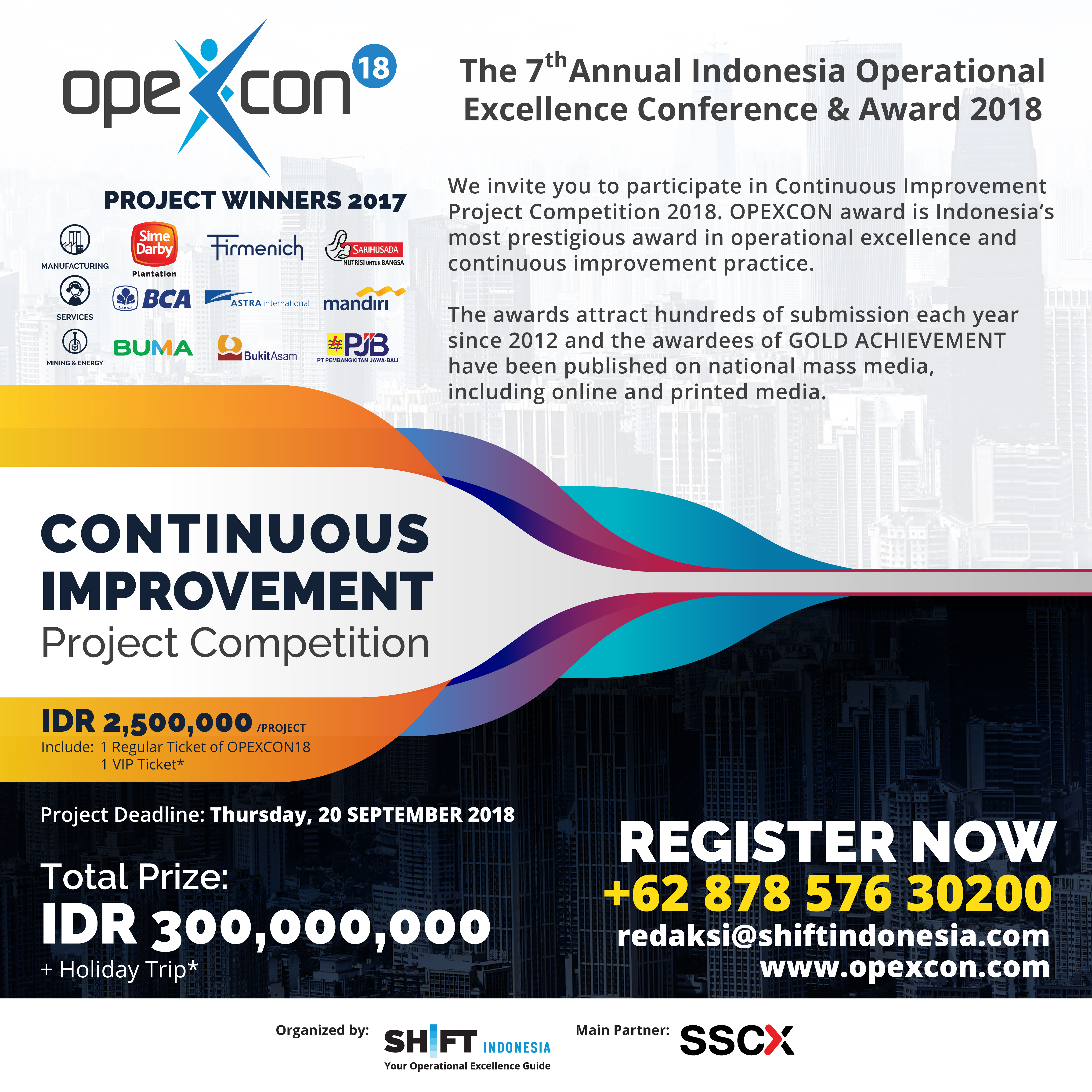 Project Competition 2018