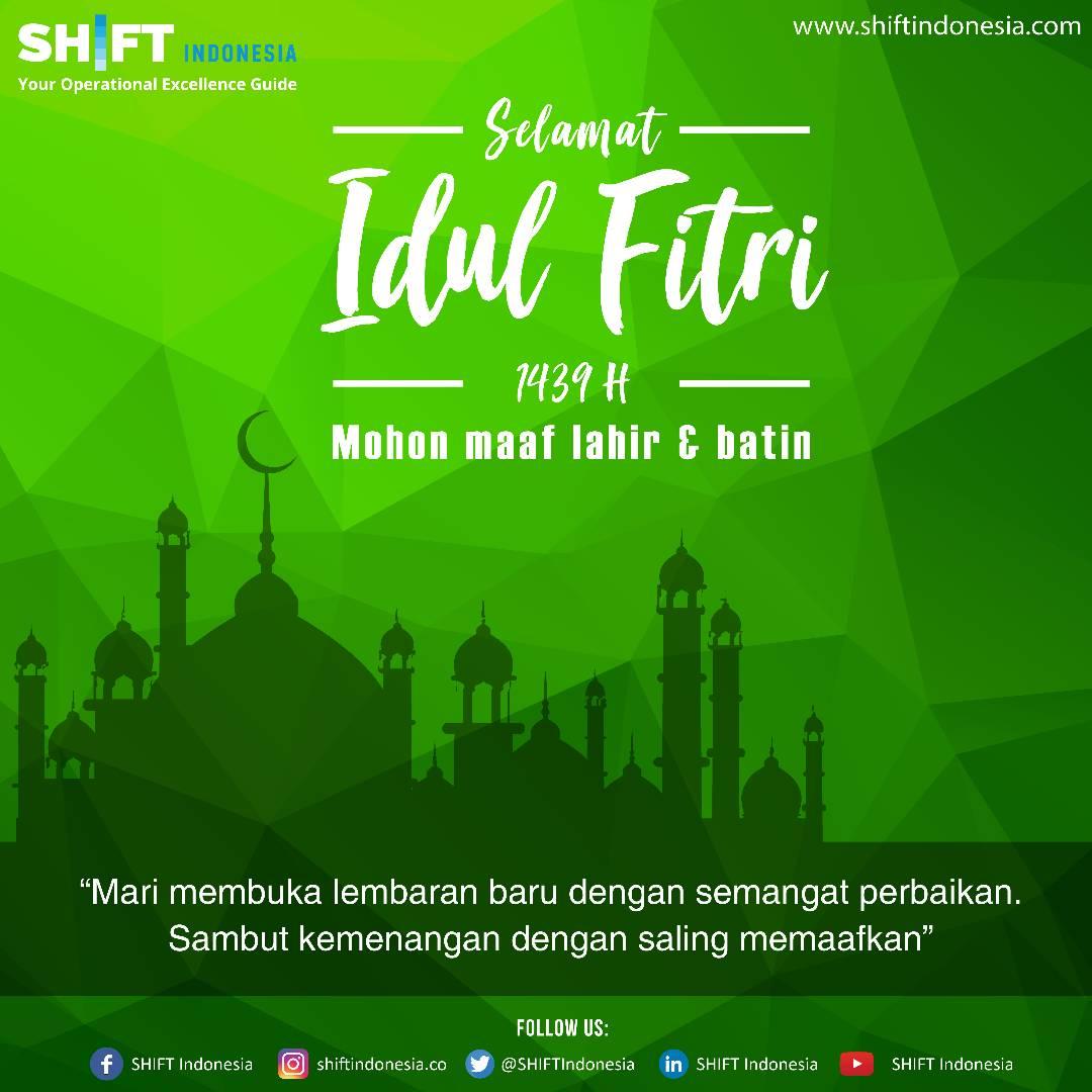 Selamat IdulFitri 1439 H, Mohon Maaf Lahir Dan Batin